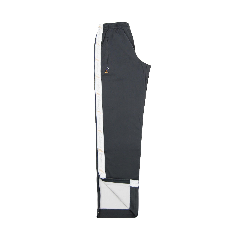 Australian broek met witte bies grijs B091