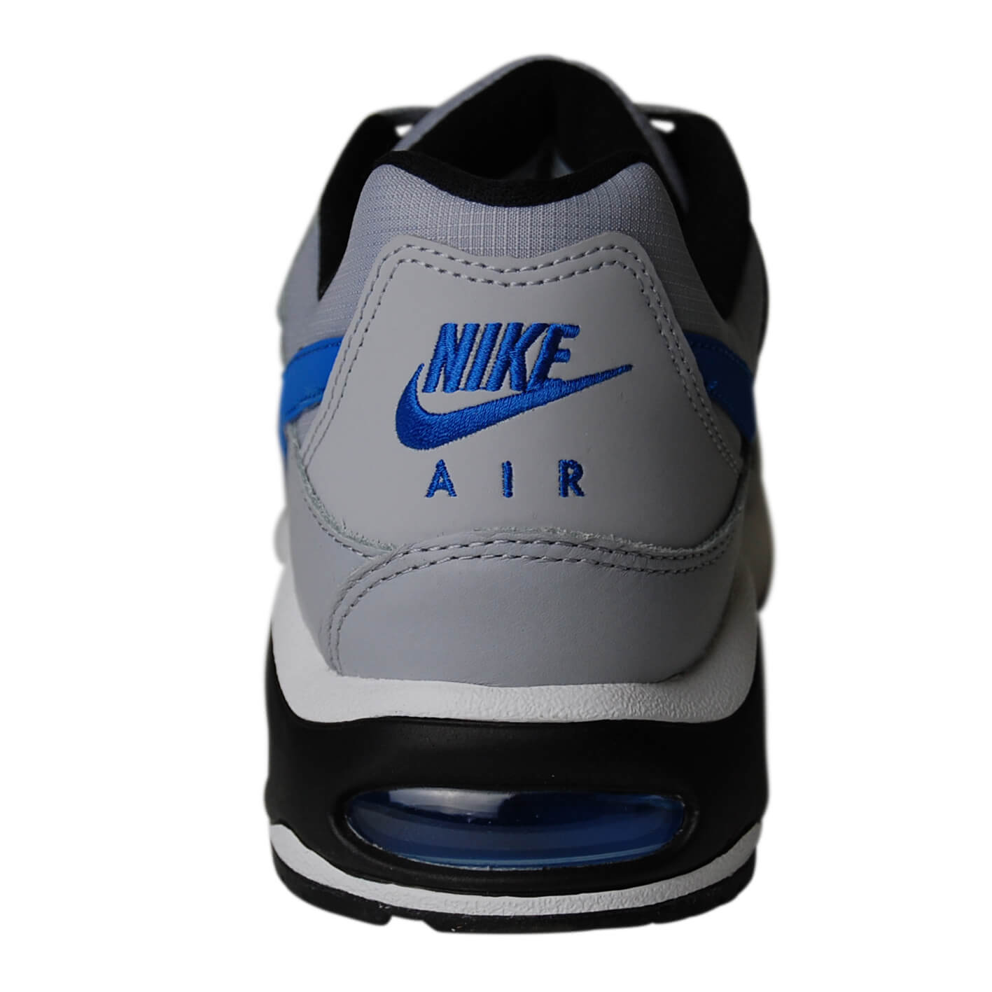 nike air max blauw grijs