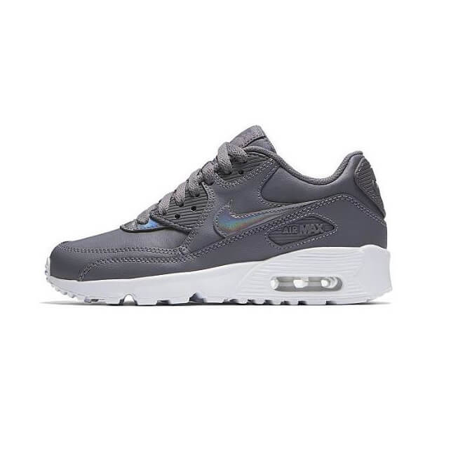 info for 21ffc aa8a6 Home»Schoenen»Nike»Nike Air Max 90 Leather GS gunsmoke. Aanbieding! Leather  GS gunsmoke