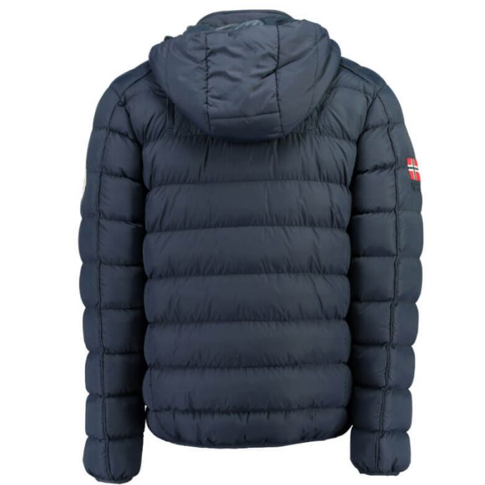 Winterjas Heren Blauw.Geographical Norway Heren Winterjas Balance Donker Blauw One Fashion