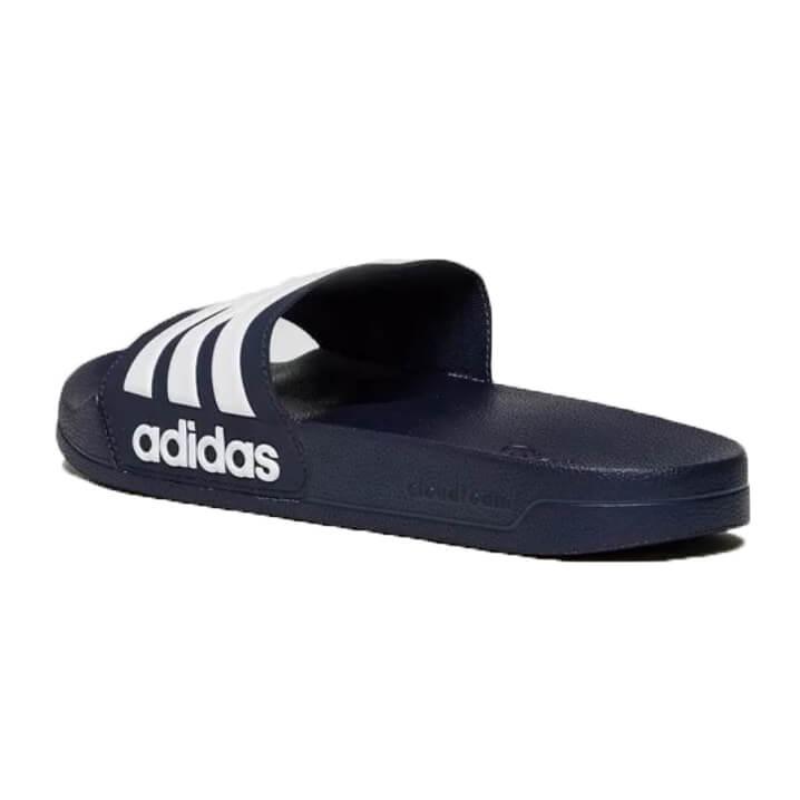 Adidas Cloudfoam Adilette slipper donker blauw