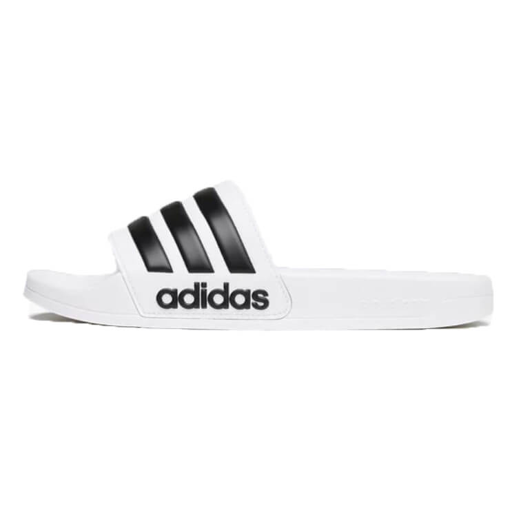 Adidas Cloudfoam Adilette slipper wit